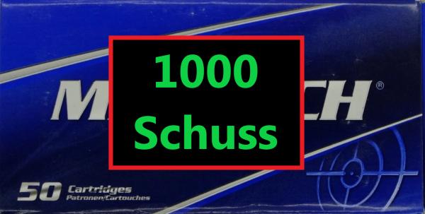 Magtech FMJ 9x19 1000 Schuss