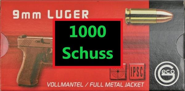 Geco FMJ 9x19 1000 Schuss