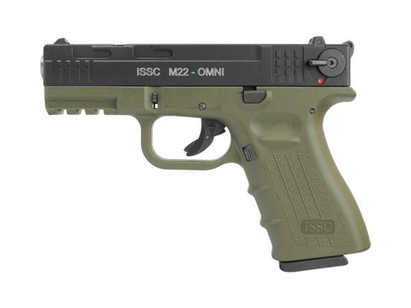 ISSC M22 OMNI OD-Green schwarz .22lr