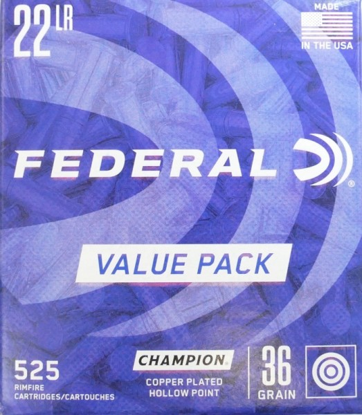 Federal .22lr Value Pack