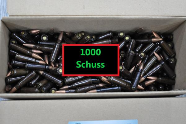 7,62x39 Surplus 1000 Schuss