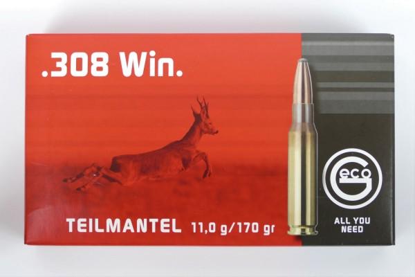 GECO .308 Win Teilmantel 170gr
