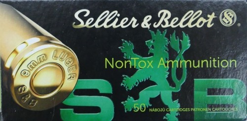 Sellier & Bellot 9x19 TFMJ NONTOX 124gr