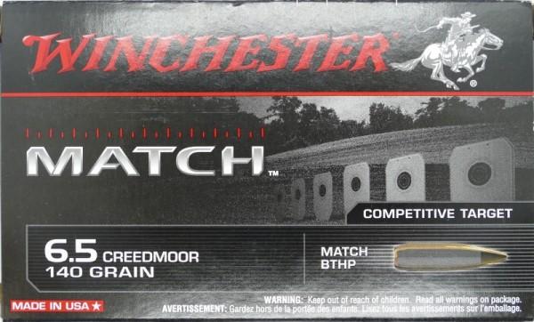 Winchester 6,5 Creedmoor Match 140gr