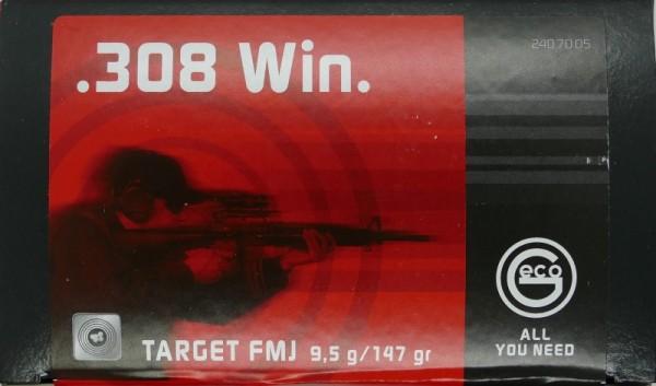 GECO .308 Win Target FMJ 147gr