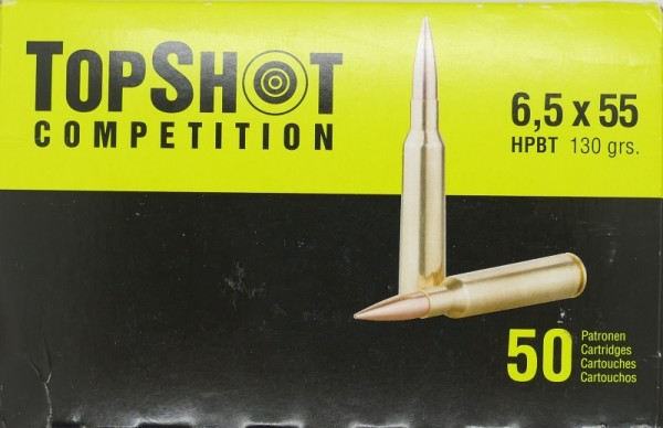 Topshot HPBT 6,5x55 130gr