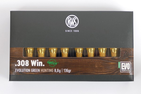 RWS EVO Green .308 win 136gr