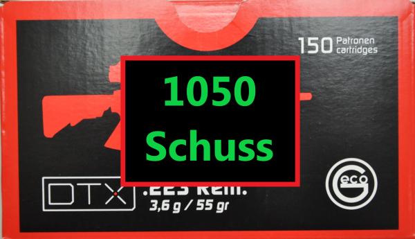Geco DTX .223 1050 Schuss